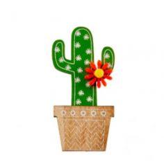 Sachet de 4 Stickers Cactus en Pot