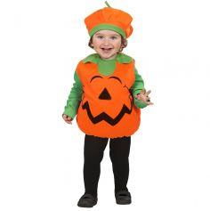 Déguisement Bébé Halloween Citrouille