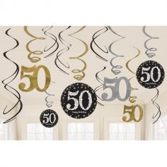 Suspensions 50 Ans - Or / Argent