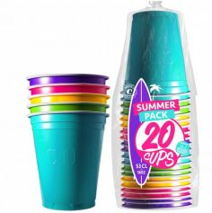 "20 Gobelets ""Beer Pong"" - Summer Pack (53 cl)"