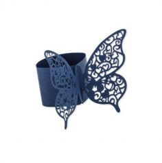 ronds-serviette-papillon-bleu-marine|jourdefete.com