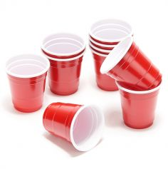 20 Gobelets 4cl - Original Party Shot - Rouge