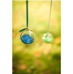 Perles de pluie diamants 110 gr - Turquoise