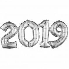 Ballon à Air - Année 2019 - Argent | jourdefete.com