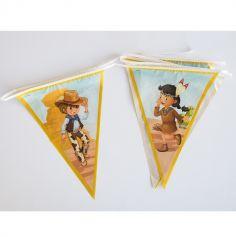 Guirlande Fanions - Collection Cowboys et Indiens