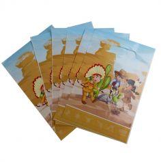 6 Sacs Cadeaux - Collection Cowboys et Indiens