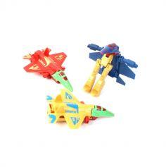 Figurine robot avion - À l'unité