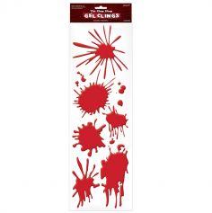 """Décoration collante taches de sang - Collection """"Zombie"""""""