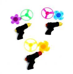 Joujou pistolet toupie et hélice