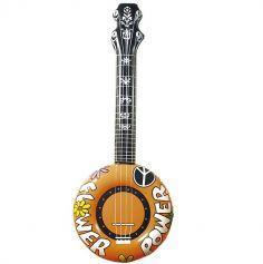 Banjo Gonflable Orange - 100 cm