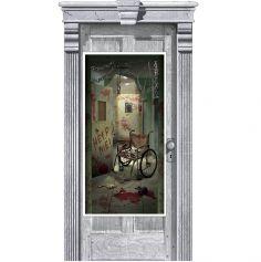 """Décoration de Porte Asile Sinistre - Collection """"Médicale"""""""