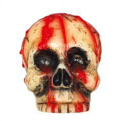 Bougie Tête de Mort - 10 cm