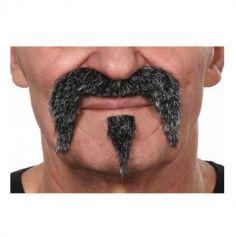"""Moustache et bouc """"Far West"""" - Poivre et Sel"""