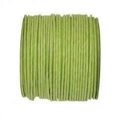Bobine de corde en laiton 20m - Vert