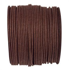Bobine de Corde en Laiton 20m - Chocolat