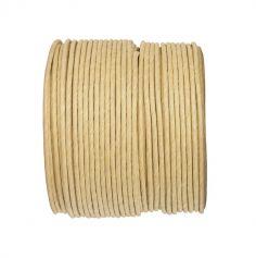 Bobine de corde en laiton 20m - Naturel