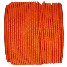 Bobine de corde en laiton 20m - Orange