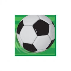 Serviettes x16 - Collection Soccer