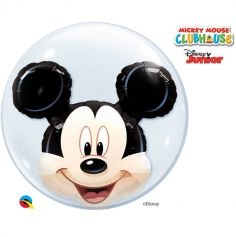 Grand Ballon Hélium Bubble Mickey
