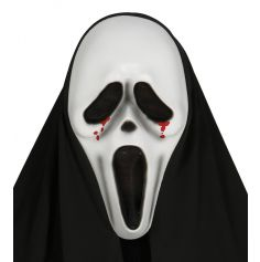 "Masque ""Scream"" Sanglant avec Capuche"
