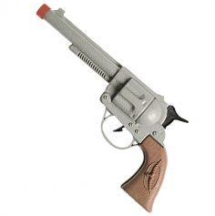 Pistolet de Cow-Boy Western - Gris