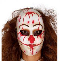 Masque de clown meurtrier