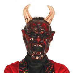 Masque de Démon en Plastique