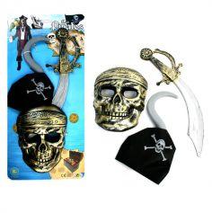 Kit de pirate avec masque