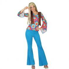 Déguisement Femme Hippie - Taille au choix