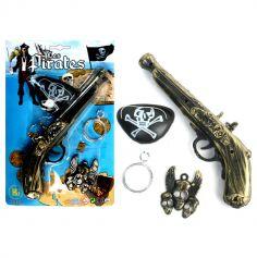 Kit pour pirate avec pistolet