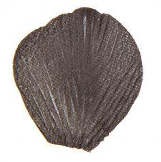 Pétales en Tissu avec Feuilles -Noir