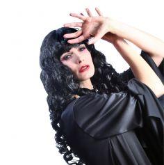Perruque Colorée Mystica Femme Noire
