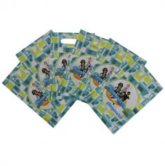 6 Sacs Cadeaux - Playmobil Super 4