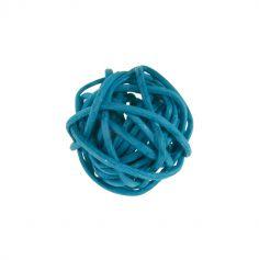 Petites Boules en Rotin x12 - Turquoise