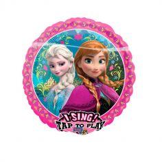Ballon Hélium Musical - La Reine des Neiges