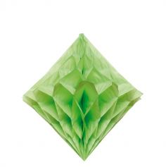 3 Diamants en crépon - Vert