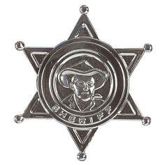 Etoile de shérif argentée