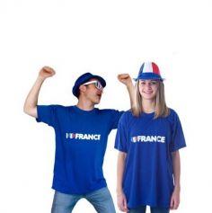 "Tee-Shirt Adulte ""I love France"""