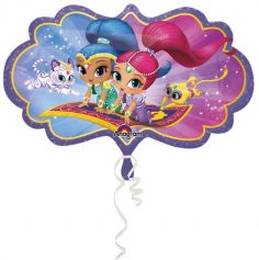 Ballon métallique - Shimmer and Shine
