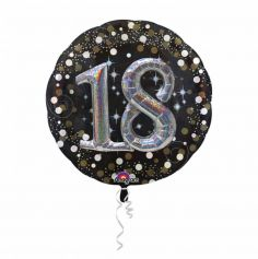 Ballon Métallique Hélium - 18 ans