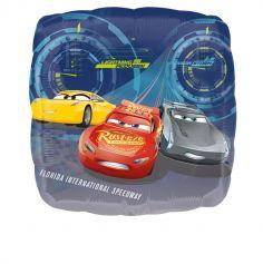 Ballon métallique Lightning McQueen - Cars 3