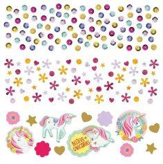 Confettis de Table - Licorne Magique | jourdefete.com