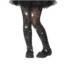 Halloween – Collants pour Fille à motifs Toile d'Araignée