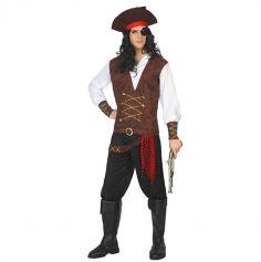 Déguisement de Pirate Homme - Taille au choix
