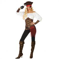 Déguisement de Pirate Femme - Taille au choix