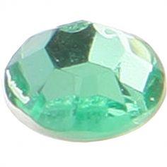 160 Perles Strass Autocollantes - Vert