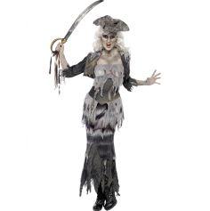 Déguisement de Pirate Fantôme Luxe Femme