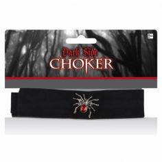 Collier Choker - Araignée
