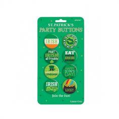 8 Badges Saint Patrick
