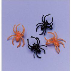 30 Bagues Araignée en Plastique